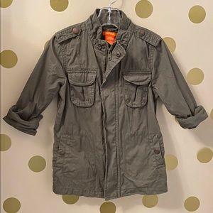 Joe Fresh - Girls Army Jacket size 5